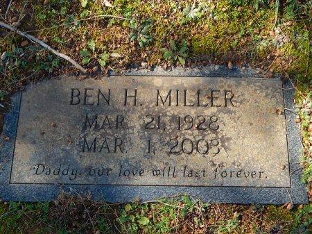 MILLER, BEN H - Knox County, Tennessee | BEN H MILLER - Tennessee Gravestone Photos