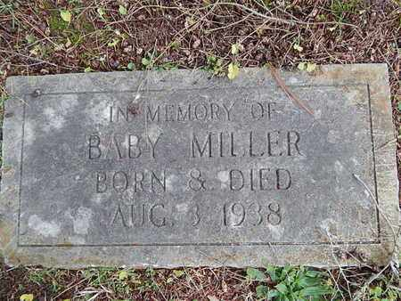 MILLER, BABY - Knox County, Tennessee   BABY MILLER - Tennessee Gravestone Photos