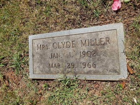 MILLER, CLYDE (MRS) - Knox County, Tennessee | CLYDE (MRS) MILLER - Tennessee Gravestone Photos