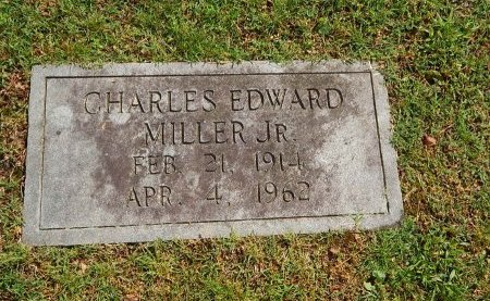 MILLER, CHARLES EDWARD JR - Knox County, Tennessee | CHARLES EDWARD JR MILLER - Tennessee Gravestone Photos