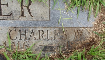 MILLER, CHARLES W - Knox County, Tennessee | CHARLES W MILLER - Tennessee Gravestone Photos