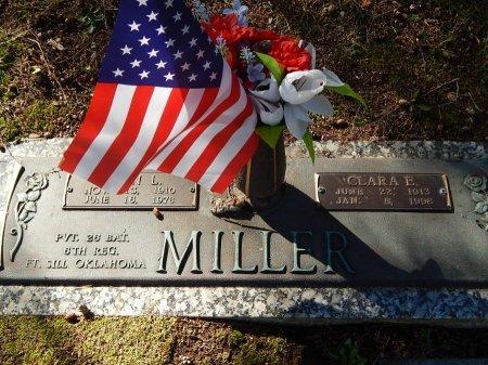 MILLER, CLARA E - Knox County, Tennessee | CLARA E MILLER - Tennessee Gravestone Photos