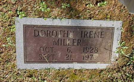 MILLER, DOROTHY IRENE - Knox County, Tennessee | DOROTHY IRENE MILLER - Tennessee Gravestone Photos