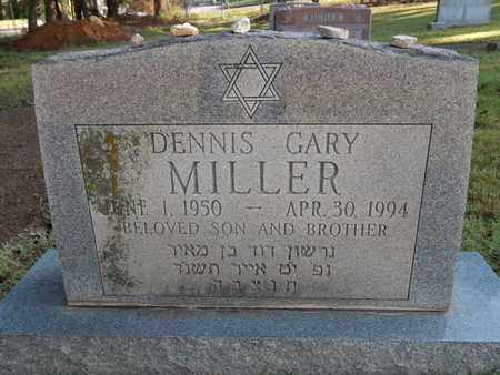 MILLER, DENNIS GARY - Knox County, Tennessee | DENNIS GARY MILLER - Tennessee Gravestone Photos