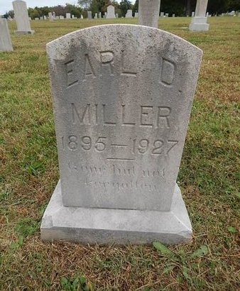 MILLER, EARL D - Knox County, Tennessee | EARL D MILLER - Tennessee Gravestone Photos
