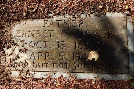 MILLER, ERNEST C - Knox County, Tennessee | ERNEST C MILLER - Tennessee Gravestone Photos