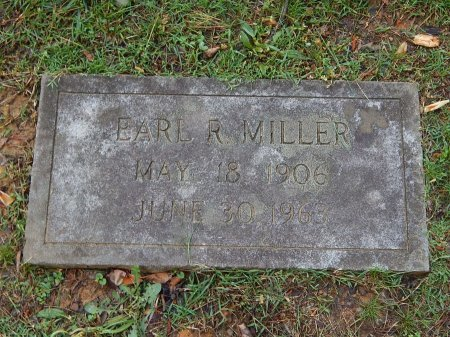 MILLER, EARL R - Knox County, Tennessee | EARL R MILLER - Tennessee Gravestone Photos