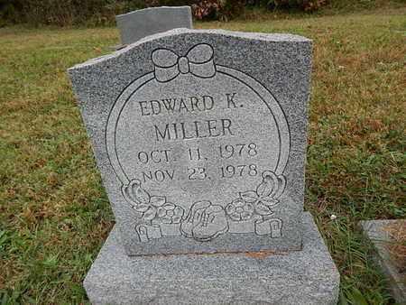 MILLER, EDWARD K - Knox County, Tennessee | EDWARD K MILLER - Tennessee Gravestone Photos