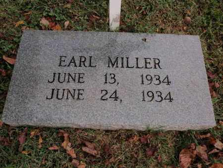 MILLER, EARL - Knox County, Tennessee | EARL MILLER - Tennessee Gravestone Photos