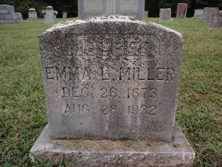 MILLER, EMMA L - Knox County, Tennessee | EMMA L MILLER - Tennessee Gravestone Photos