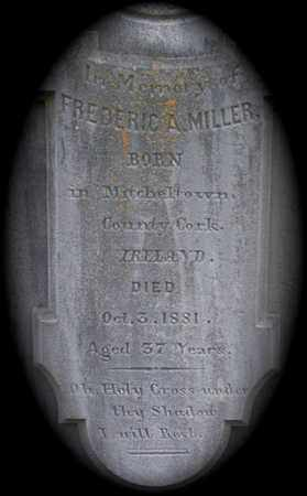 MILLER, FREDERIC A - Knox County, Tennessee | FREDERIC A MILLER - Tennessee Gravestone Photos