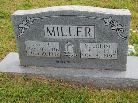 MILLER, FRED R - Knox County, Tennessee | FRED R MILLER - Tennessee Gravestone Photos