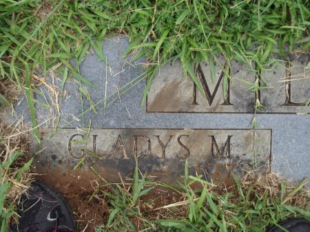 MILLER, GLADYS M - Knox County, Tennessee | GLADYS M MILLER - Tennessee Gravestone Photos
