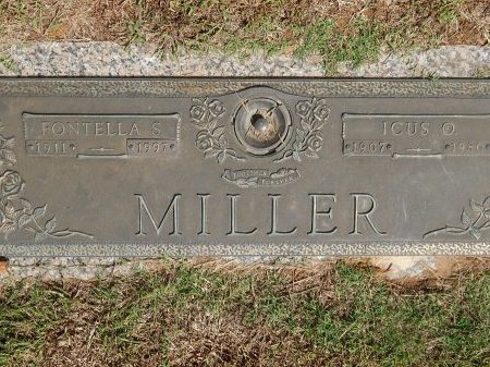 MILLER, GRACE FONTELLA - Knox County, Tennessee | GRACE FONTELLA MILLER - Tennessee Gravestone Photos
