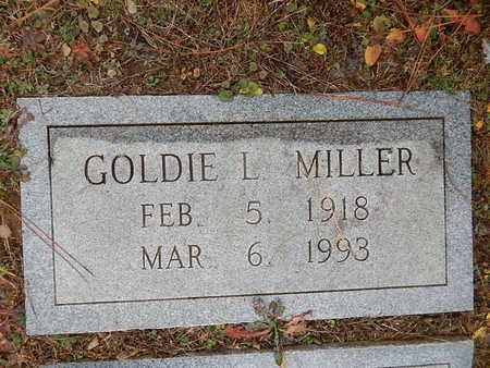 MILLER, GOLDIE L - Knox County, Tennessee | GOLDIE L MILLER - Tennessee Gravestone Photos