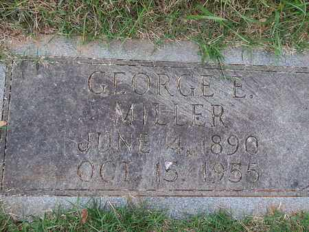 MILLER, GEORGE E - Knox County, Tennessee | GEORGE E MILLER - Tennessee Gravestone Photos