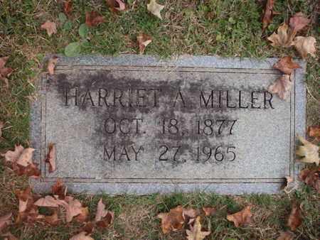 MILLER, HARRIET A - Knox County, Tennessee | HARRIET A MILLER - Tennessee Gravestone Photos