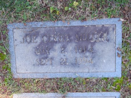MILLER, JOE CLYDE - Knox County, Tennessee | JOE CLYDE MILLER - Tennessee Gravestone Photos