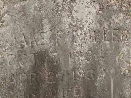 MILLER, JAKE F (CLOSE-UP) - Knox County, Tennessee | JAKE F (CLOSE-UP) MILLER - Tennessee Gravestone Photos