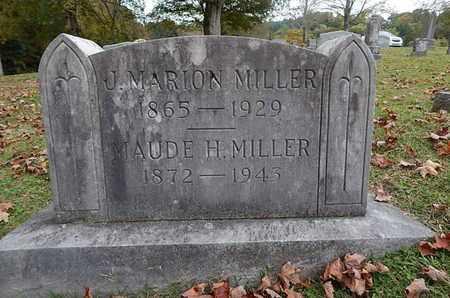 MILLER, MAUDE H - Knox County, Tennessee | MAUDE H MILLER - Tennessee Gravestone Photos