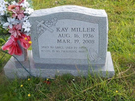 MILLER, KAY - Knox County, Tennessee | KAY MILLER - Tennessee Gravestone Photos