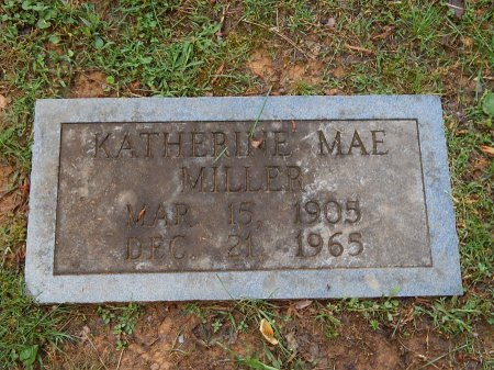 MILLER, KATHERINE MAE - Knox County, Tennessee | KATHERINE MAE MILLER - Tennessee Gravestone Photos
