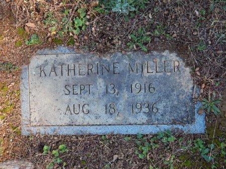 MILLER, KATHERINE - Knox County, Tennessee   KATHERINE MILLER - Tennessee Gravestone Photos