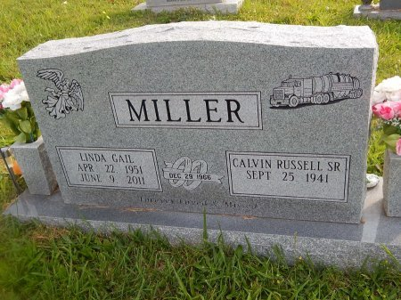 MILLER, LINDA GAIL - Knox County, Tennessee | LINDA GAIL MILLER - Tennessee Gravestone Photos