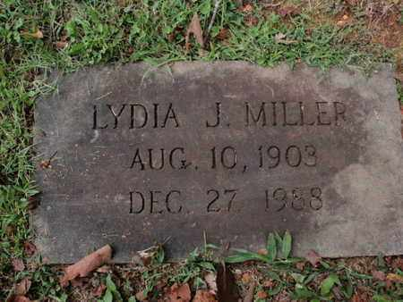 MILLER, LYDIA J - Knox County, Tennessee | LYDIA J MILLER - Tennessee Gravestone Photos