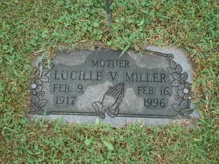 MILLER, LUCILLE V - Knox County, Tennessee | LUCILLE V MILLER - Tennessee Gravestone Photos
