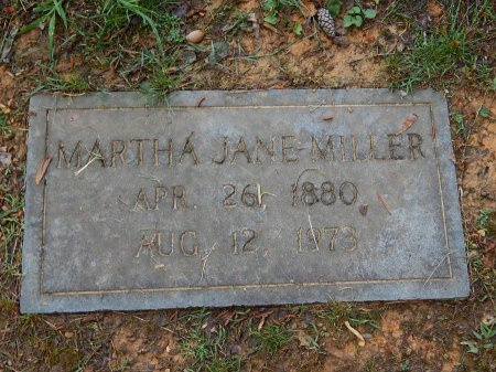 MILLER, MARTHA JANE - Knox County, Tennessee | MARTHA JANE MILLER - Tennessee Gravestone Photos