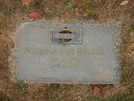 MILLER, NORMAN LEE - Knox County, Tennessee | NORMAN LEE MILLER - Tennessee Gravestone Photos