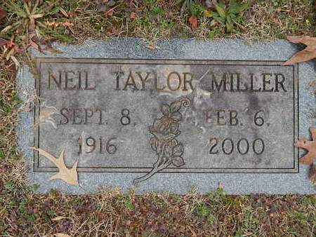 MILLER, NEIL TAYLOR - Knox County, Tennessee | NEIL TAYLOR MILLER - Tennessee Gravestone Photos