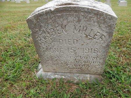 MILLER, REUBEN - Knox County, Tennessee | REUBEN MILLER - Tennessee Gravestone Photos