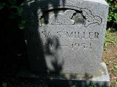 MILLER, ROSA S - Knox County, Tennessee | ROSA S MILLER - Tennessee Gravestone Photos