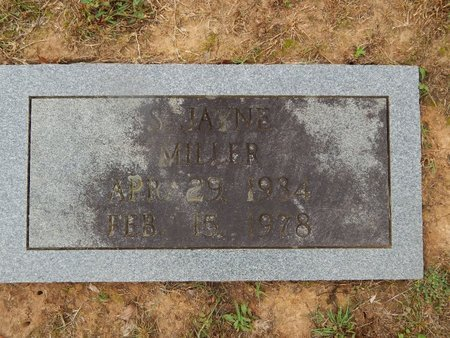 MILLER, S JAYNE - Knox County, Tennessee   S JAYNE MILLER - Tennessee Gravestone Photos