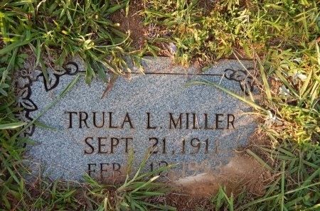 MILLER, TRULA L - Knox County, Tennessee   TRULA L MILLER - Tennessee Gravestone Photos