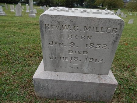 MILLER, W C (REVEREND) - Knox County, Tennessee | W C (REVEREND) MILLER - Tennessee Gravestone Photos