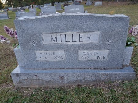MILLER, WALTER J - Knox County, Tennessee | WALTER J MILLER - Tennessee Gravestone Photos