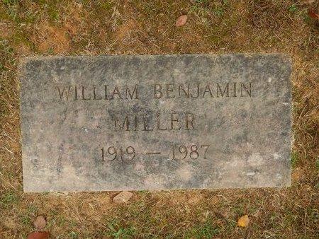 MILLER, WILLIAM BENJAMIN - Knox County, Tennessee | WILLIAM BENJAMIN MILLER - Tennessee Gravestone Photos
