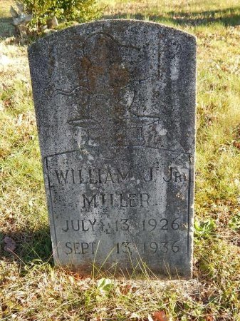 MILLER, WILLIAM J JR - Knox County, Tennessee | WILLIAM J JR MILLER - Tennessee Gravestone Photos