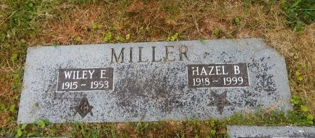 MILLER, HAZEL B - Knox County, Tennessee | HAZEL B MILLER - Tennessee Gravestone Photos