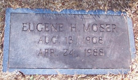 MOSER, EUGENE H. - Knox County, Tennessee | EUGENE H. MOSER - Tennessee Gravestone Photos