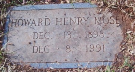 MOSER, HOWARD HENRY - Knox County, Tennessee | HOWARD HENRY MOSER - Tennessee Gravestone Photos