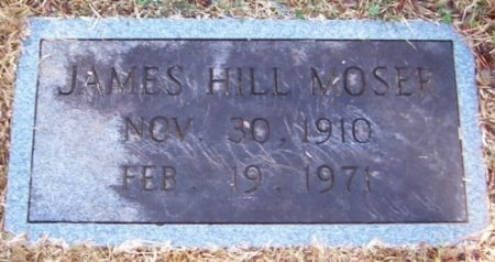 MOSER, JAMES HILL - Knox County, Tennessee | JAMES HILL MOSER - Tennessee Gravestone Photos