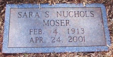 MOSER, SARA SUE - Knox County, Tennessee | SARA SUE MOSER - Tennessee Gravestone Photos