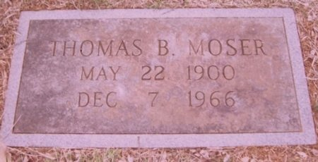 MOSER, THOMAS BRYAN - Knox County, Tennessee   THOMAS BRYAN MOSER - Tennessee Gravestone Photos