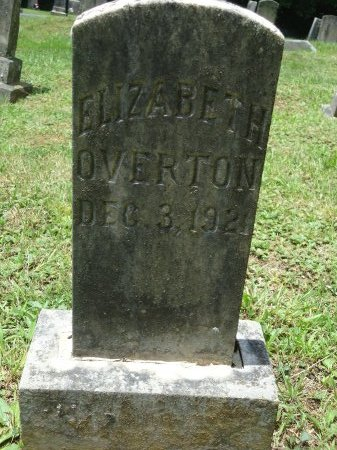 OVERTON, ANNA ELIZABETH - Knox County, Tennessee   ANNA ELIZABETH OVERTON - Tennessee Gravestone Photos