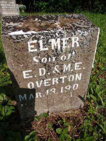 OVERTON, ELMER - Knox County, Tennessee | ELMER OVERTON - Tennessee Gravestone Photos