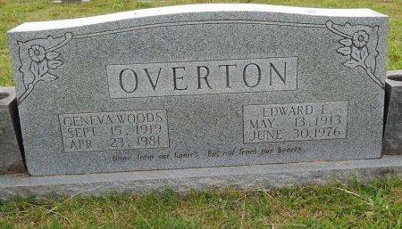 OVERTON, EDWARD E - Knox County, Tennessee | EDWARD E OVERTON - Tennessee Gravestone Photos